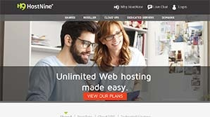 HostNine Screenshot