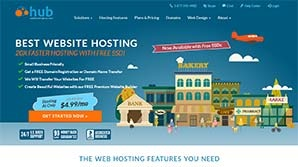 Web Hosting Hub Screenshot